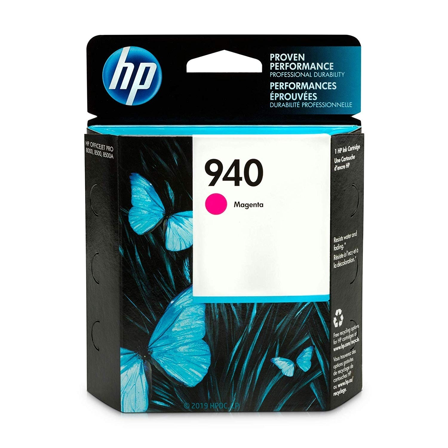 HP 940 Ink Cartridge, Magenta - 1-pack
