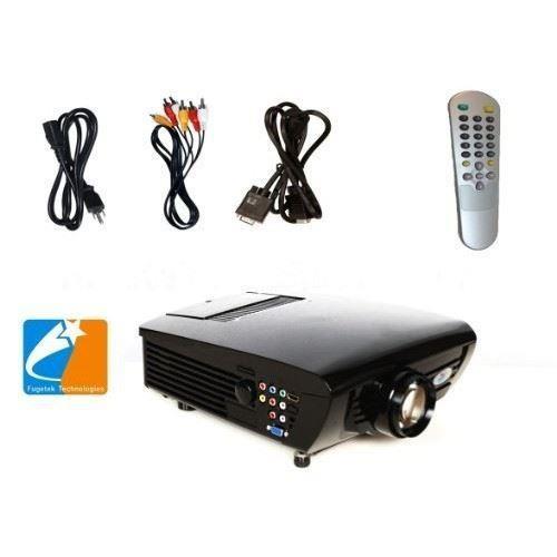 Fugetek FG-637 LCD Video Projector 1080i/p Home Theater Cinema Black