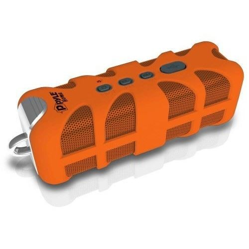 Pyle Home SoundBox Splash PWPBT60 Portable Speaker - Bluetooth - Orange