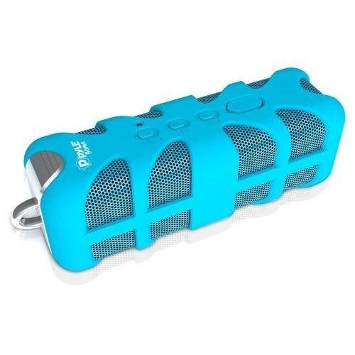 Pyle Home SoundBox Splash PWPBT60 Portable Speaker - Bluetooth - Blue