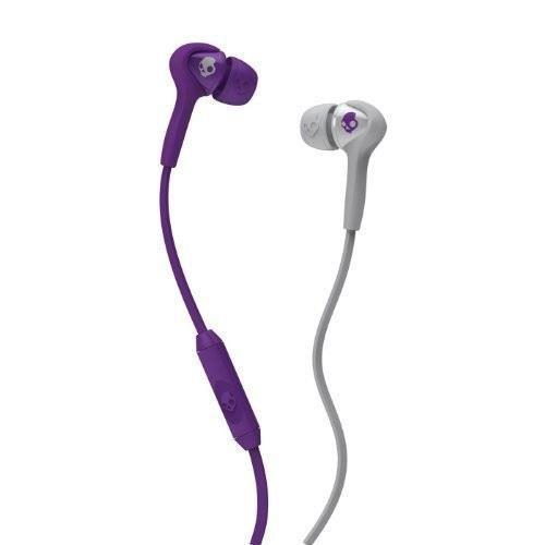 Skullcandy Smokin Buds : Athletic Purple Grey w Mic