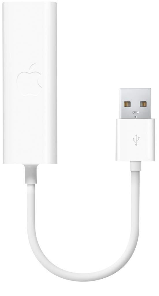 Apple - USB Ethernet Adapter - White