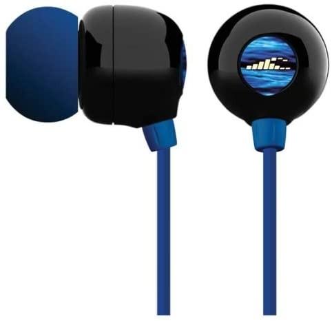 H2O Audio Surge Waterproof Sport Headphones, Blue