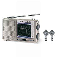 COBY CX-CB12 AM/FM/LW/SW 12-Band Radio