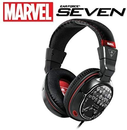 Turtle Beach Ear Force Marvel Seven Gaming Headset for Xbox 360, PlayStation 3, PS3, Windows and Mac