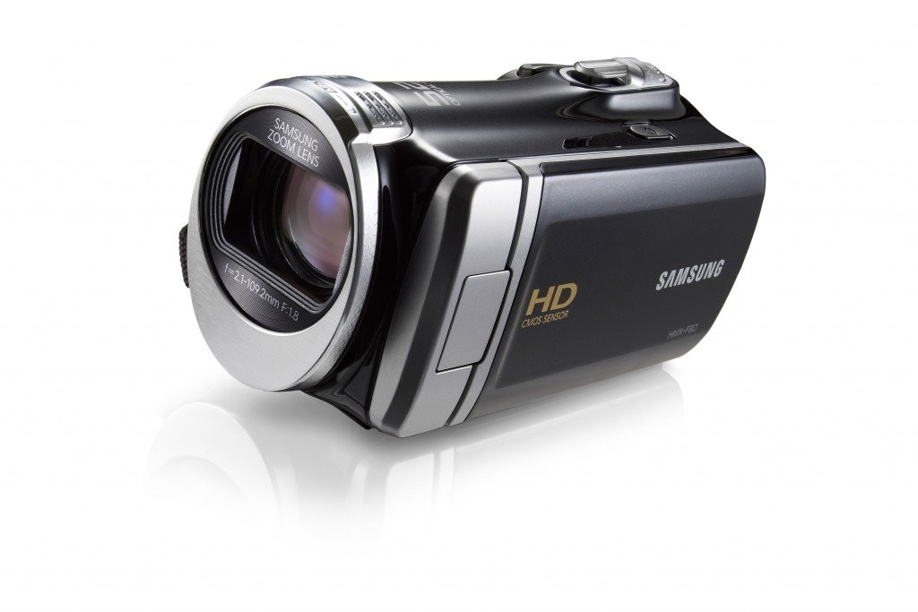 Samsung HMX-F90 Camcorder - black