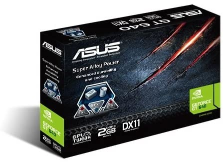 ASUS GT640 2GB DDR3 Memory Graphics Cards