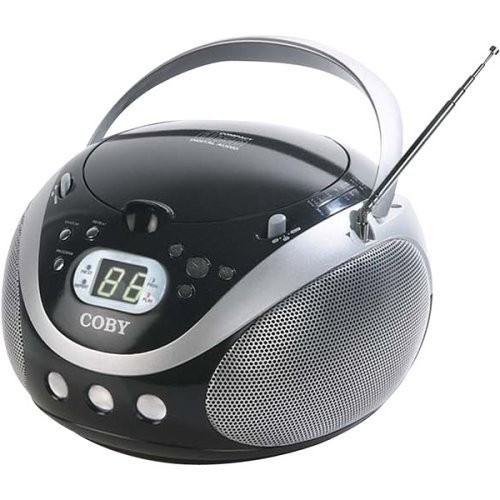 Coby MP-CD451 Portable Stereo MP3/CD Player With AM/FM Tuner