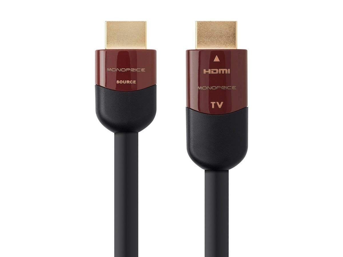 Monoprice 40 Feet Ultra Slim HDMI Cable with Redmere Technology