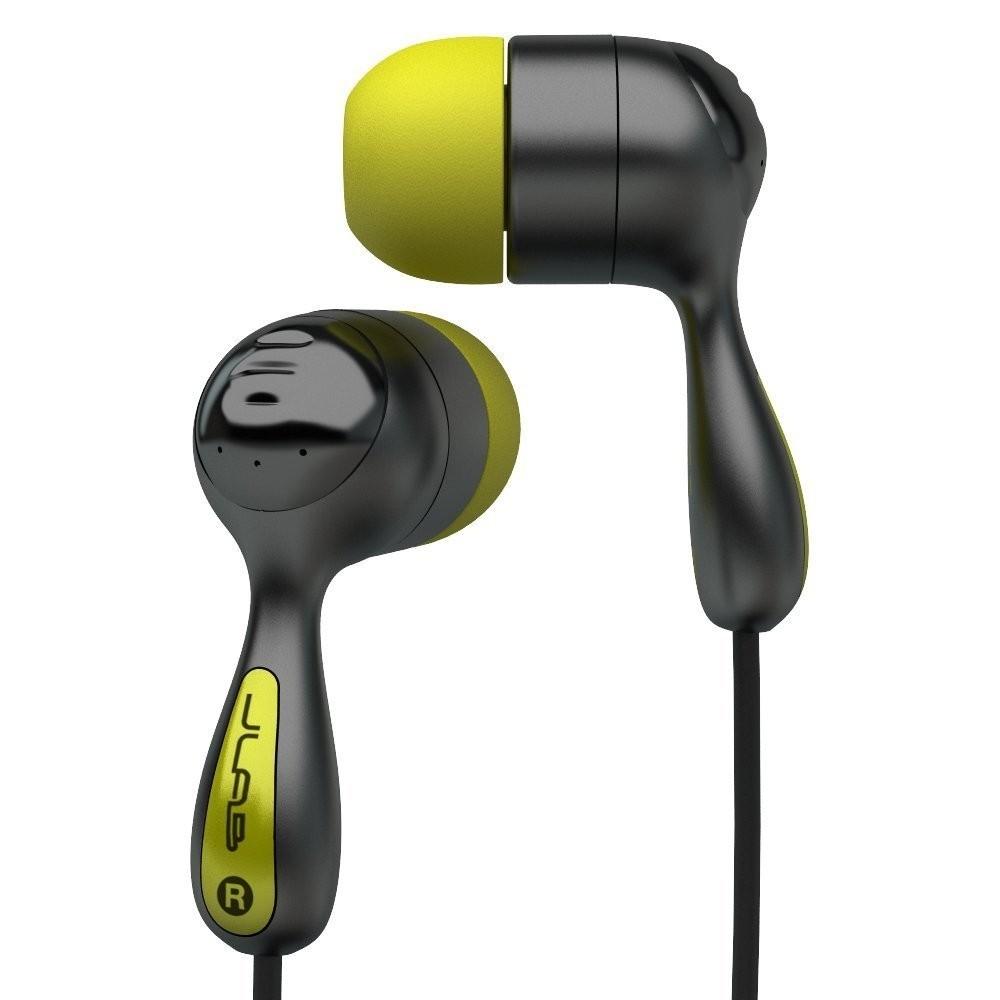 JLab Audio JBuds Hi-Fi Noise-Reducing Ear Buds - Black/Yellow