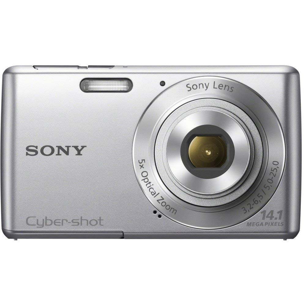 Sony Cyber-shot DSC-W620 14.1 MP Digital Camera with 5x Optical Zoom and 2.7-Inch LCD (Silver)