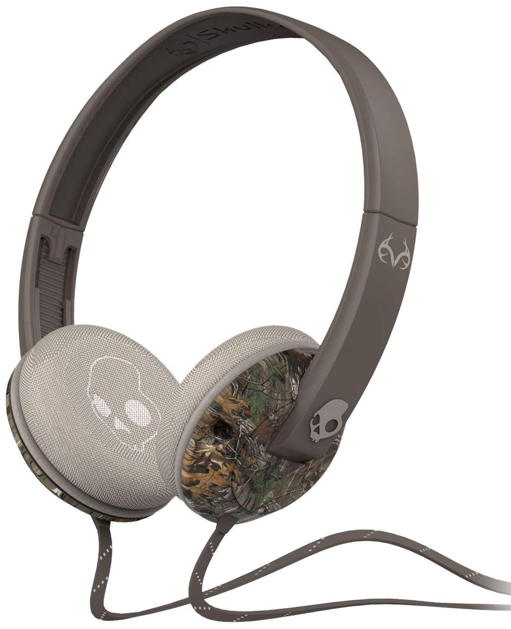 Skullcandy Unisex Uprock Mic'd Real Tree Camo/Dark Tan Headphones