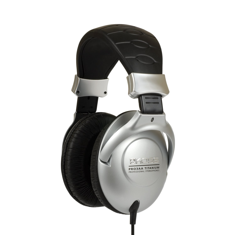Koss PRO3AA Collapsible Closedear Headphones With Adjustable Headband