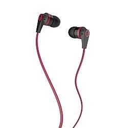 Skullcandy Ink'd 2 Earphones/Earbuds Stereo Headphone - Black/Red