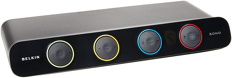 Belkin SOHO KVM VGA & USB KVM Switch - 4 KVM Ports