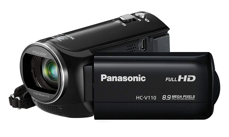 Panasonic HC-V110 Light Weight HD 1080p Digital Camcorder (black)