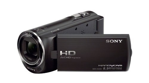Sony Handycam HDR-CX220 2.39 MP Camcorder - 1080p - Black