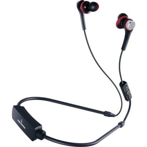 Audio Technica Solid Bass Wireless In-ear Headphones with In-line Mic and Control ATH-CKS55XBT