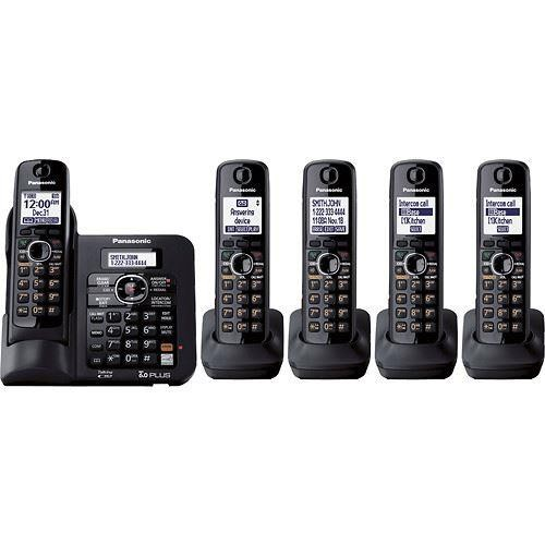 Panasonic - DECT 6.0 Expandable Cordless Phone System with Digital Answering System