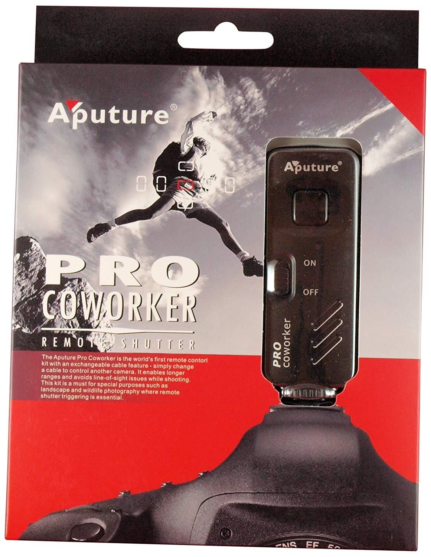 Aputure Pro Coworker Wireless Remote, RF Radio Shutter Release for Sony A55, A33, A500, A550, A850, A900, A350, A300,A200, A700, A100