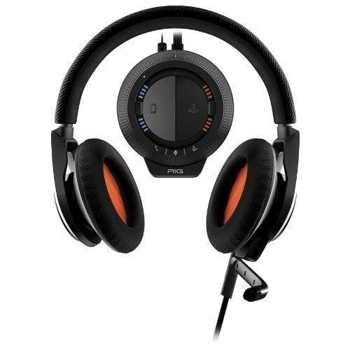 Plantronics RIG Gaming Stereo Headset for PC/MAC Xbox 360 PS3 PS4, Black