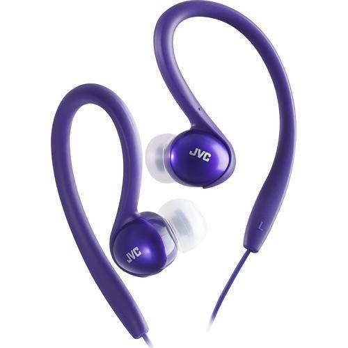 JVC Sport Clip Earphone Violet