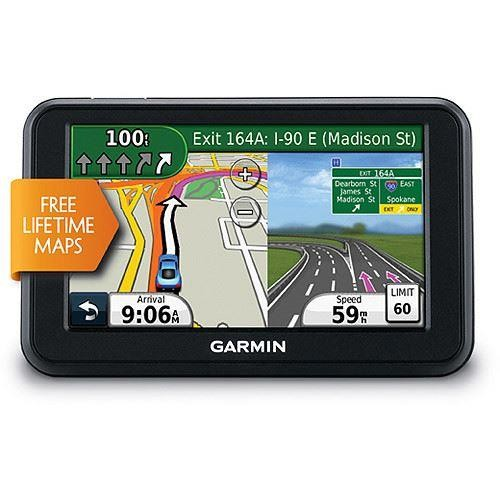 4.3 In. GPS Navigator with United States Map Coverage and Lifetime Map Updates