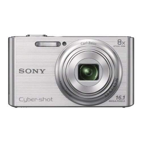 Sony Cyber-Shot DSC-W730 16.1 MP Compact Digital Camera - 720p - Silver